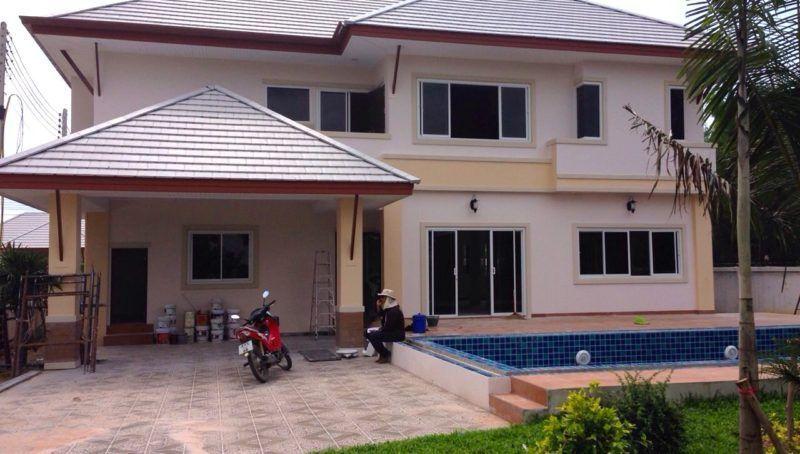 купить дом в тайланде паттайя с бассейном