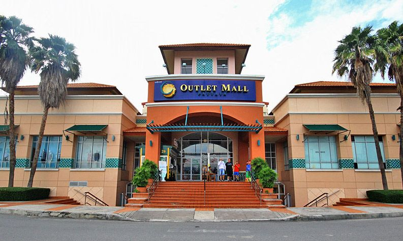Outlet mall и Premium outlet в паттайе