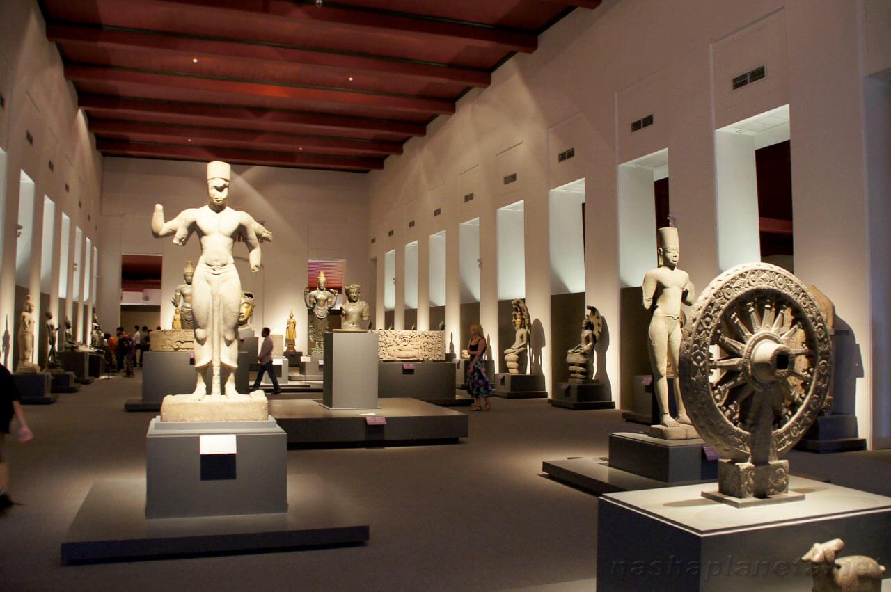 Национальный музей - исторический памятник Бангкока
